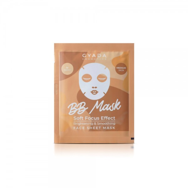 BB Mask - Brightening & Smoothing Sheet Mask - Medium