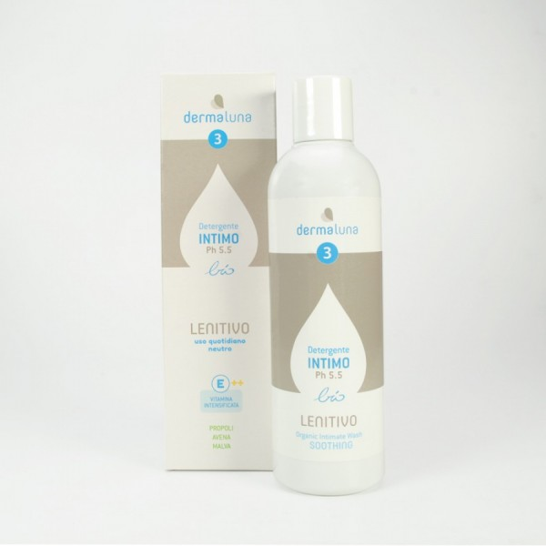 Dermaluna 3 - Detergente Intimo Lenitivo Quotidian...