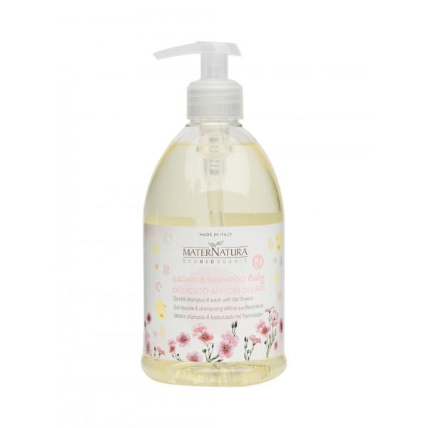 Bagno & Shampoo Baby delicato ai Fiori di Lino