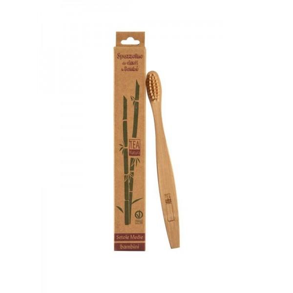 Spazzolino da Denti in Bambù - Bambini
